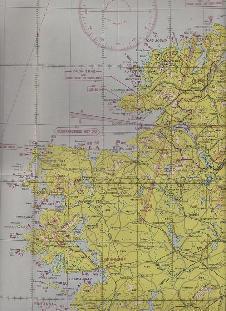 USAAF chart